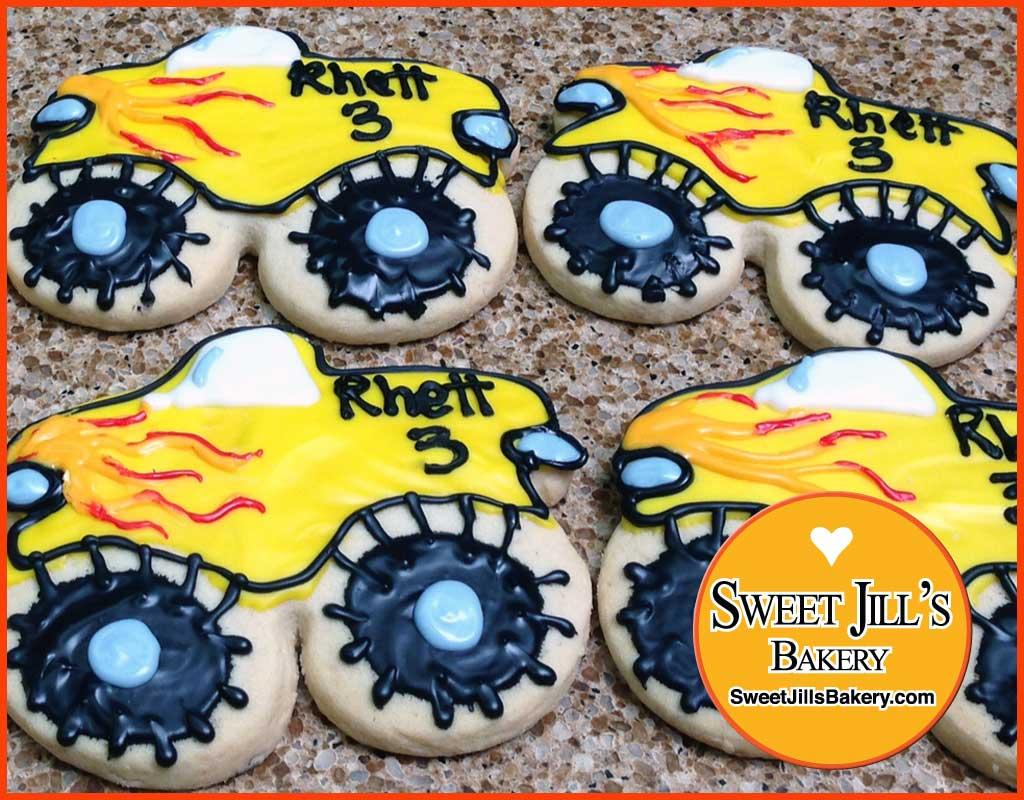 SweetJillsBakery–RaceCars–Cookies